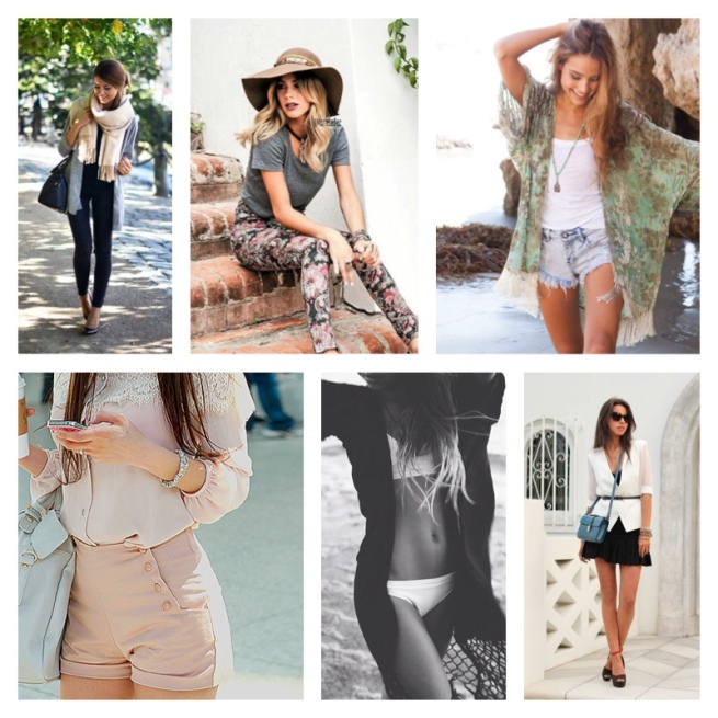 Collage clothes